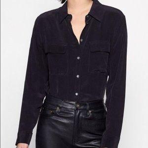 Aritzia | Babaton ERIC Silk Shirt - 100% Silk